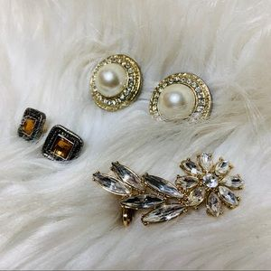 ✨SALE 5 for $25 • Earring Bundle with Ear Cuff